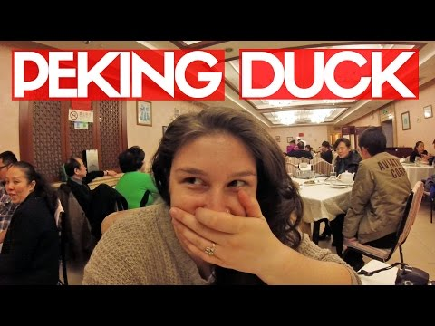 PEKING ROAST DUCK! | Beijing Daily Vlogs