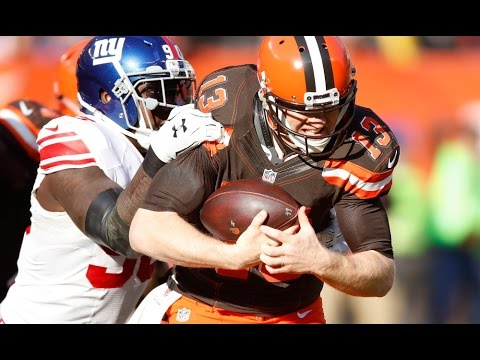Jason Pierre-Paul vs Browns (NFL Week 12 - 2016) - 7 Tackles, 2 Sacks + FF! | NFL Highlights HD