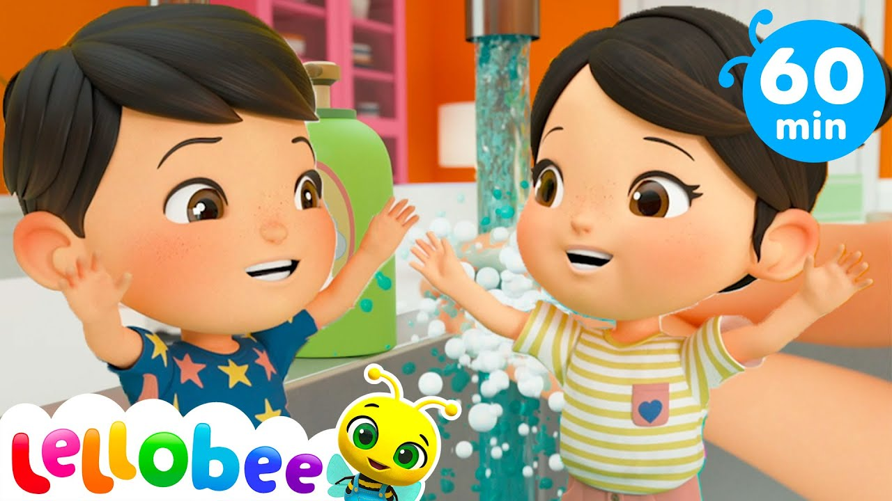 Wash Your Hands  + More Nursery Rhymes & Kids Songs - Little Baby Bum