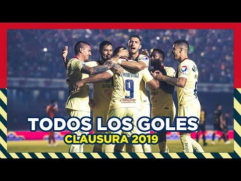 Todos los goles de Liga del Clausura 2019 | Club América
