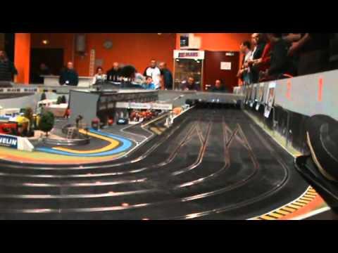 slot racing 14h endurance le mans 2011