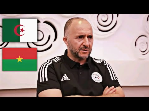 CONFÉRENCE DE PRESSE DJAMEL BELMADI APRES-MATCH DU BURKINA FASO - ALGÉRIE