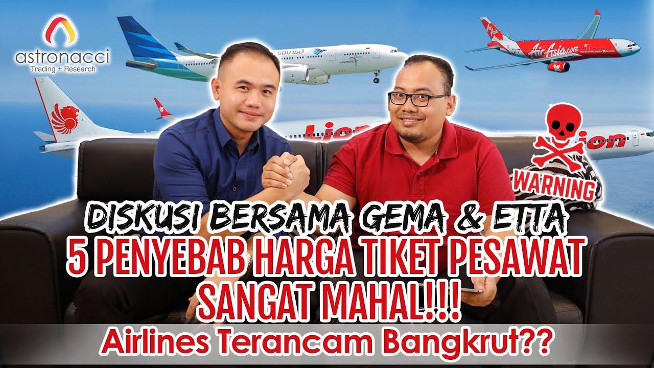 Alasan Tiket Pesawat Mahal 2019 Salah Jokowi
