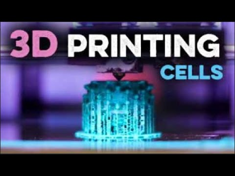 Microscopy for blind people - 3D Printed Cells