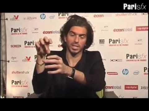 Full Interview Alexis Wajsbrot at ParisFx by 3dvf - Gravity