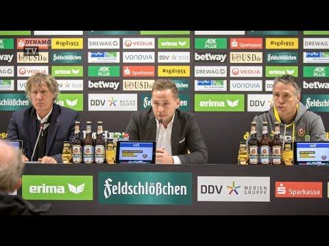 14. Spieltag   SGD - BOC   Pressekonferenz nach dem Spiel