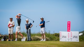 England Golf Captains' Tournaments 2021 | Highlights from the East Course, Saunton Golf Club