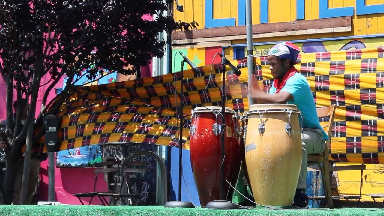 ultimate Haitian Drum solo by Jeff Pierre - Haitian ...