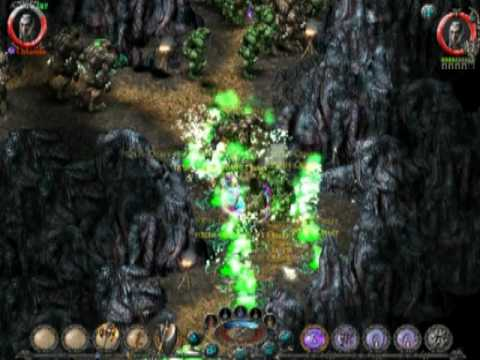 Sacred Underworld. Overspawn in the Bears Cave in Hell