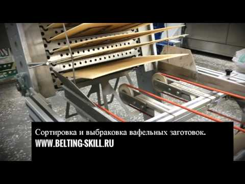 Конвейерные ленты - кондитерское производство