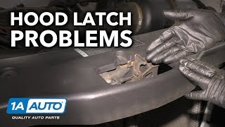 Hood Stuck Shut? How to Diagnose Stuck Hood Latch on Your Car / Truck