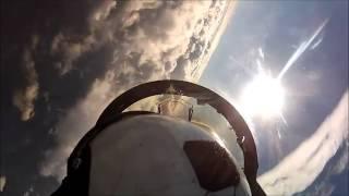Полеты на F-18 Superhornet