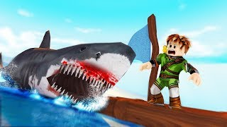 🐤 ROBLOX #263-HUGE SHARK ATTACKS! 🐤