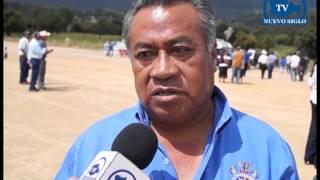 OAXACA NUEVO SIGLO TV INAUGURACION DE CANCHA DE FUTBOL SOCCER SAN PEDRO TIDAA