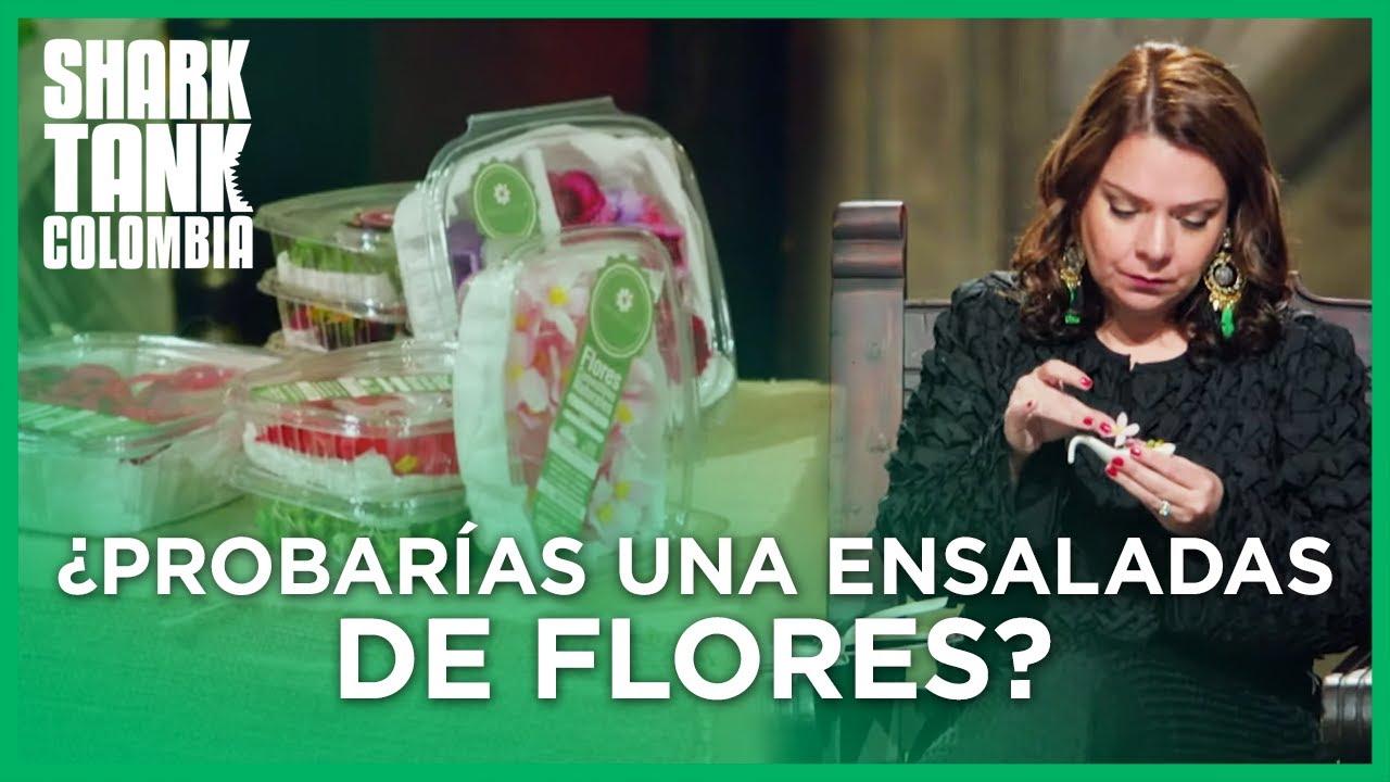 ¿Probarías una ensaladas de flores? | Shark Tank Colombia