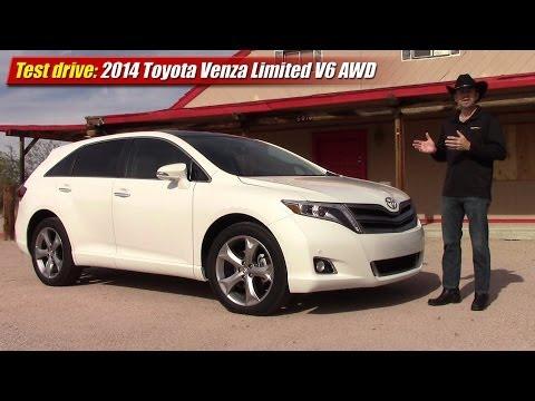 Test drive: 2014 Toyota Venza Limited V6 AWD