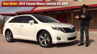 Test drive: 2014 Toyota Venza Limited V6 AWD