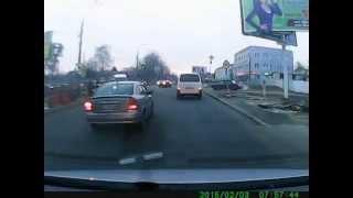 Гнида на дороге АІ 9652 АМ.