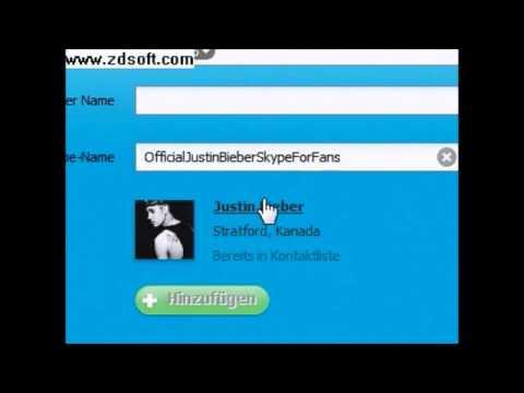 Justin Bieber Skype Real Name