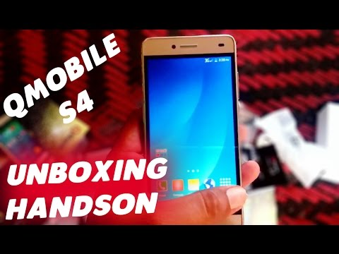Qmobile Noir S4 Unboxing   HandsOn    Best Budget Phone