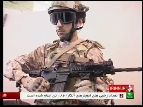 iran army ground force soldiers 100% home-made equipments