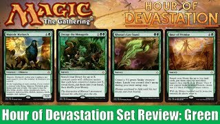 mtg hour of devastation full set review green
