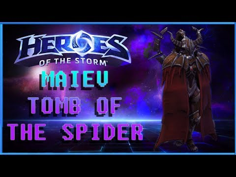 Heroes Of The Storm, Melee Assassin Maiev, Tomb Of The Spider Queen
