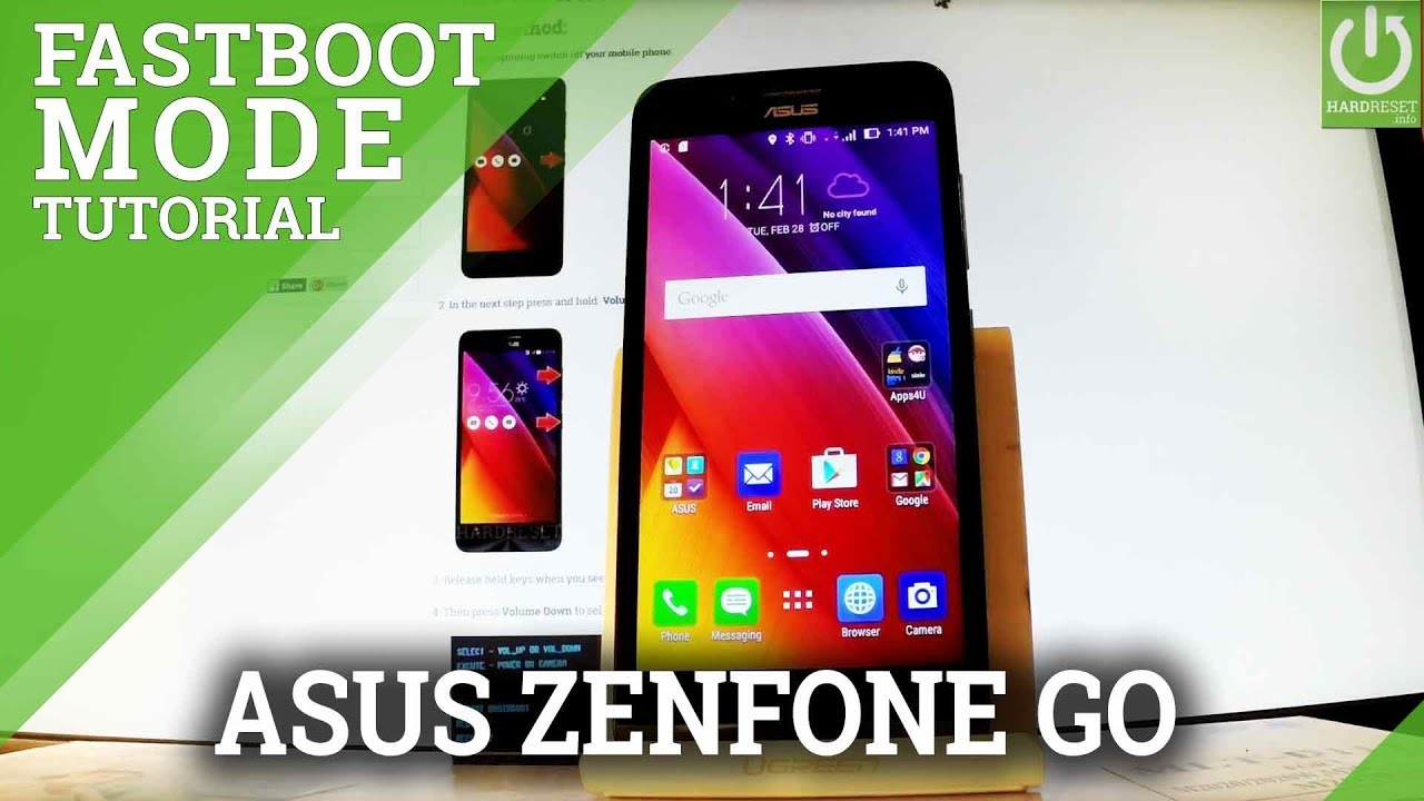 How to Enter Fastboot Mode in ASUS Zenfone Go - Quit ASUS Fastboo