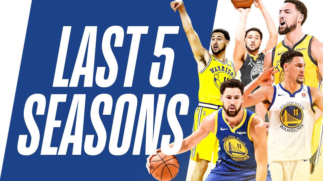 Download Klay Thompson's Top Plays | Last 5 Seasons