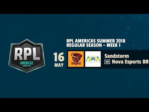 🥇Nova eSports Brazil vs Sandstorm 🥇 | RPL AMERICAS , ROYALE PREMIERE LEAGUE.!