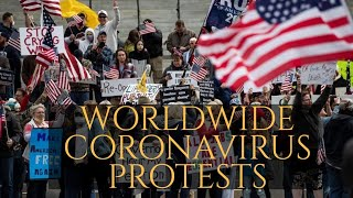 PROTESTS: Worldwide Coronavirus (Work, Money, Freedom)