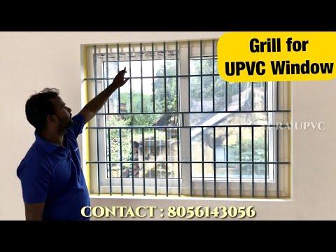 How To Installation Upvc Windows Grill | Villupuram | AURA UPVC Windows & Doors