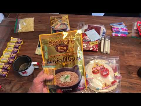 7 Day Backpacking Food List