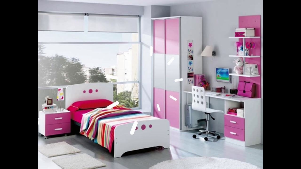 Decoraci n de habitaciones cuartos juveniles 2018 ideas - Decoracion de paredes de dormitorios juveniles ...