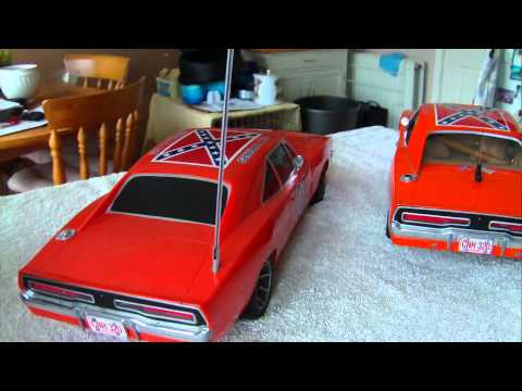 Rc general lee 1/10 scale malibu body 2005.