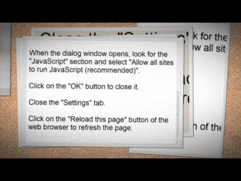 How to enable javascript in your browser youtube how to enable javascript in your browser ccuart Image collections
