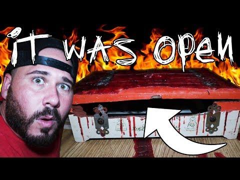 (Dybbuk Box) Someone Opened The Demon Box (Uncut Terrifying Footage)   OmarGoshTV
