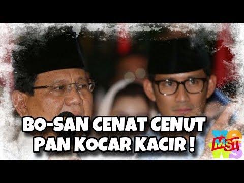 Prabowo-Sandi Cenat-Cenut Bossku, Kader Demokrat Dan PAN Berlomba-Lomba Dukung Jokowi-Amin