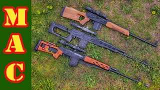SVD vs. PSL vs. VEPR in 7.62x54R
