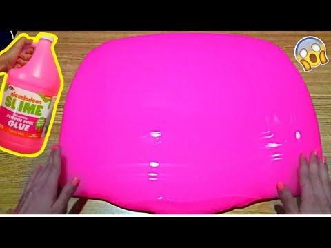 SLIME un galon pegamento Nickelodeon quedo de 9 litros