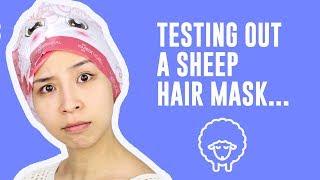 Weird Hair Mask For Dry Damaged Hair!
