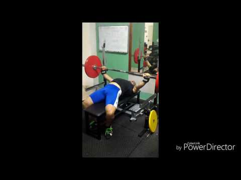 Bench press Personal Record 180.kg!