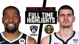 Nets vs Nuggets HIGHLIGHTS Full Game | NBA May 8