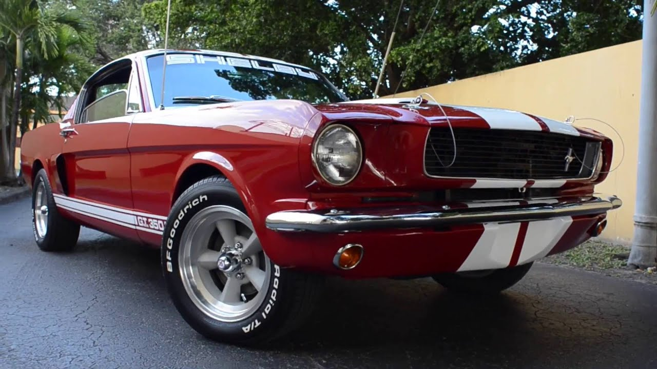 1966 Mustang Fastback Shelby Gt350 FOR SALE