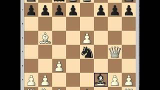 Brilliant miniature from 12th EU Individual chess Championship 2011