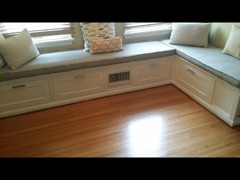 How to make a built in Dining Room Banquette