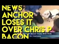 FUNNY BACON Chris P Bacon - News Anchor Reporter Loses It With Name of a Pig and Other Funny News F