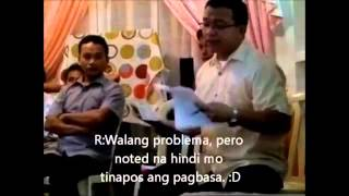 CFD (Ryan Mejillano) vs Kinawawang INC (Julius Cutin)-Tagalog Sub-Q&A_1