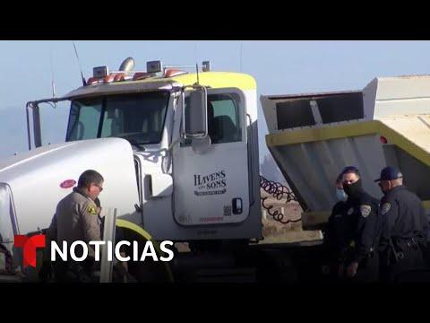 Imágenes de accidente de tránsito en California con múltiples víctimas fatales