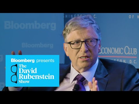 Bill Gates on The David Rubenstein Show